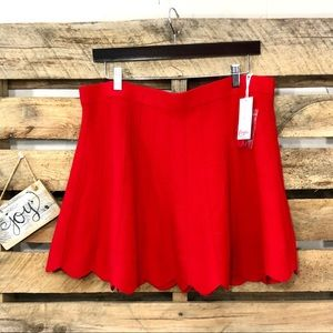 🎈NEW LISTING! NWT Candie's Red Knit Sweater Skirt